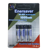 Enersaver NI-MH Rechargeable Battery AAA 1.2V