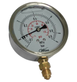 Oil Fill Stainless Pressure Gauge