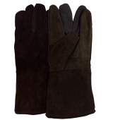 "Welding glove,13"" Brown"