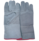"Welding glove,13"" Gray"