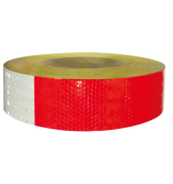Reflective Tape (Silver & Red)