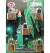 Master Key Padlock Short Shackle